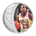 1 oz 2018 Celebrity Icons Series | Legends of Sport - Basketball | Michael Jordan Silver Coin