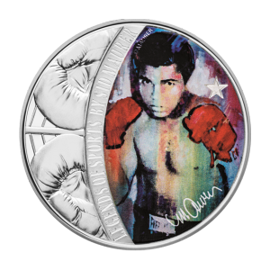 1 oz 2018 Celebrity Icons Series | Legends of Sport - Boxing | Muhammad Ali Silver Coin