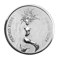 1 oz 2018 Fiji Mermaid Rising Silver Coin