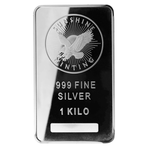 1 kg | kilo Sunshine Mint Silver Bar