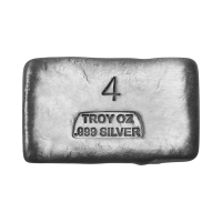 4 oz Assorted Silver Bar