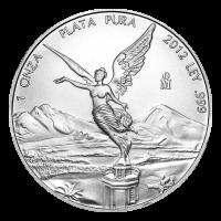1 oz Silbermünze - mexikanische Libertad - 2012