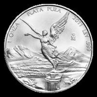 Pièce d'argent Libertad mexicaine 2011 de 1 once