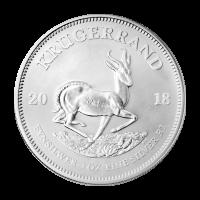 Pièce d'argent Krugerrand 2018 de 1 once