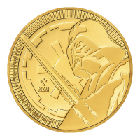1 oz 2018 Star Wars | Darth Vader Lightsaber Gold Coin