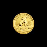 Moneda de Oro Canguro Australiano 2010 de 1/10 oz