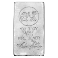 100 oz Silberbarren Silvertowne