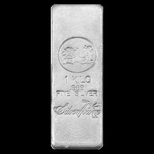 1 kg | Lingot d'argent Silvertowne