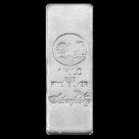 1 kg | kilo Silvertowne Silver Bar