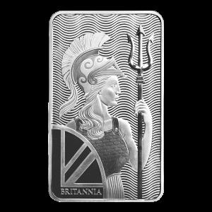 10 uns Britannia Silverstapel