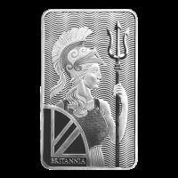 10 oz Britannia Sølvbarre