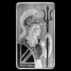 100 oz Britannia Silver Bar
