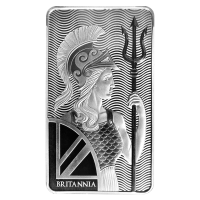 100 oz Silberbarren Britannia
