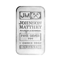 1 oz Johnson Matthey TD Bank Silver Bar
