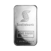 1 oz Silberbarren Johnson Matthey Scotiabank