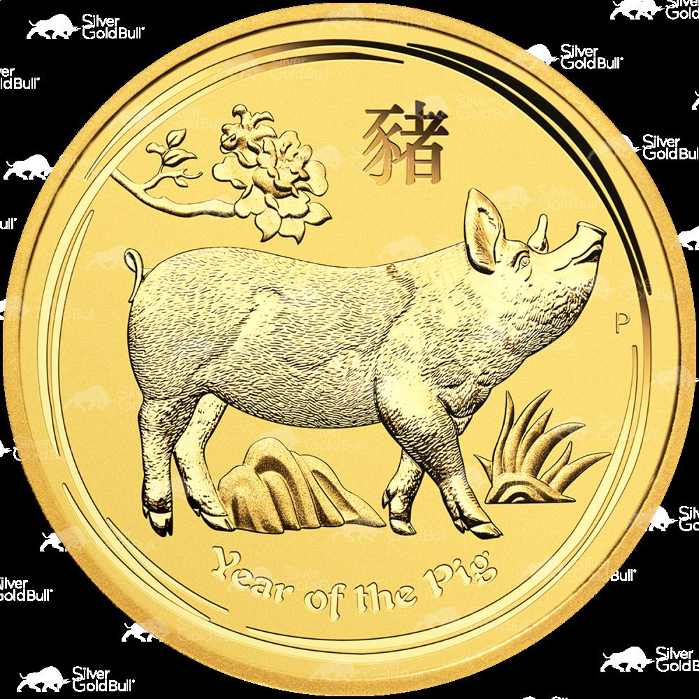 SKU #84440 2015 Australia 1//20 oz Gold Lunar Goat BU