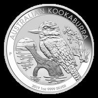 Moneda de plata Cocaburra australiano 2019 de 1 onza