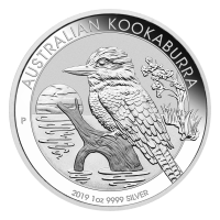 1 oz 2019 Australian Kookaburra Sølvmynt