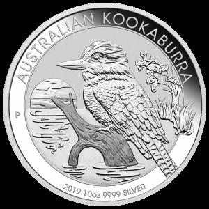 10 oz 2019 Australian Kookaburra Silver Coin