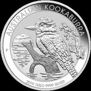 1 kg | Pièce d'argent Kookaburra australien 2019