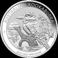 1 kg | kilo 2019 Australian Kookaburra Silver Coin