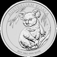 1 kg | kilo 2019 Australian Koala Silver Coin