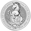 10 oz 2019 Royal Mint Queen's Beasts | Unicorn of Scotland Silver Coin
