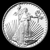 1 oz Silvertowne Saint-Gaudens Silver Round