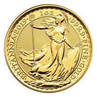 1 oz Goldmünze Britannia 2019
