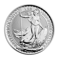 1 oz Silbermünze Britannia 2019