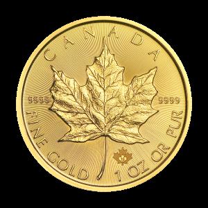 1 أوقية 2019 عملة ذهبية لورقة القيقب الكندية