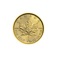 1/4 oz 2019 Canadian Maple Leaf Gold Coin