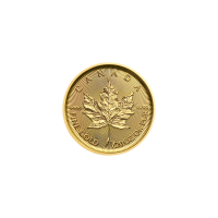 1/20 oz 2019 Canadian Maple Leaf Gold Coin