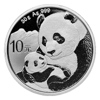 30 gram 2019 Chinese Panda Silver Coin