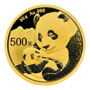 30 gram 2019 Chinese Panda Gold Coin