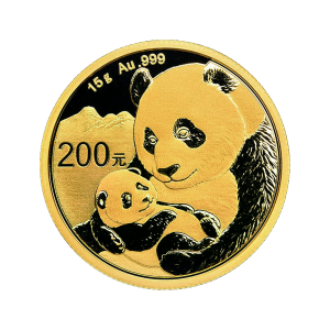 15 gram 2019 Chinese Panda Gold Coin