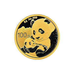 8 gram 2019 Chinese Panda Gold Coin