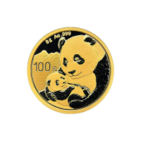 8 g 2019 Chinese Panda Gold Coin