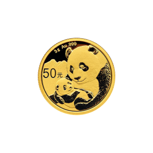 3 g 2019 Chinese Panda Gold Coin