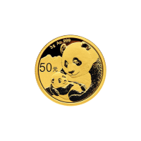 3 gram 2019 Chinese Panda Gold Coin