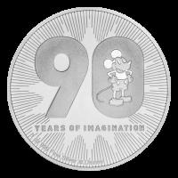 1 oz 2018 Disney Mickey Mouse | 90th Anniversary Silver Coin