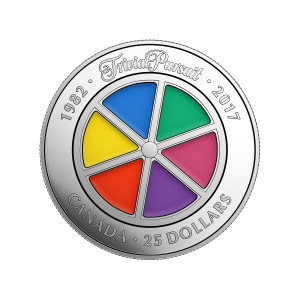 2017 Trivial Pursuit 35th Anniversary Silver Coin
