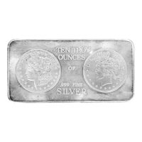10 oz Portland Mint Art Silver Bar