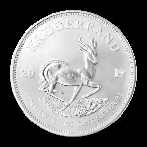 1 uns 2019 Krugerrand Silvermynt