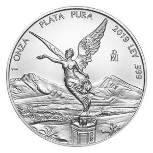 Moneda de Plata Libertad Mexicana 2019 de 1 oz