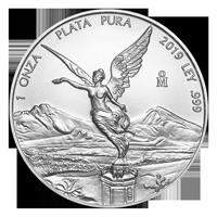 1 oz 2019 Mexican Libertad Silver Coin