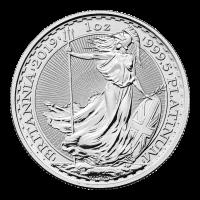 1 oz 2019 Britannia Platinum Coin