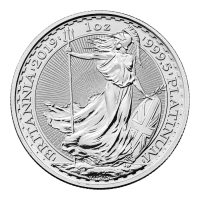 Moneda de Platino Britannia 2019 de 1 oz