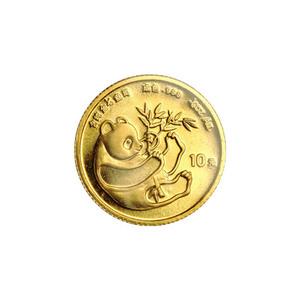 1/10 oz 1984 Chinese Panda Gold Coin