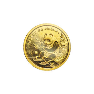 1/10 oz 1991 Chinese Panda Gold Coin